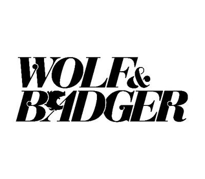 wold and badger logo